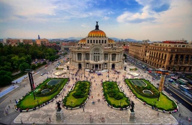 Palacio de Bellas Artes en la actualidad.